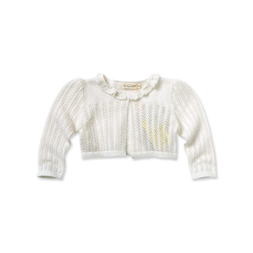d8f89e452 DB1947 davebella baby girl knitted short cappa manufacturers
