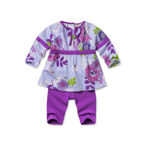 DB1798 davebella baby printed clothing sets