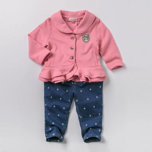 DB2100 davebella baby girl coats