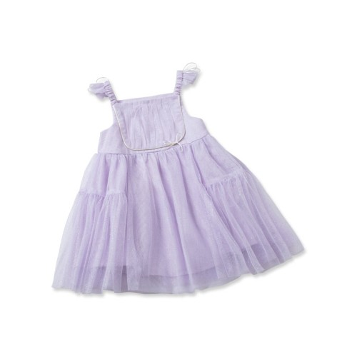 DB2160 davebella baby girl eleven pleated skirts