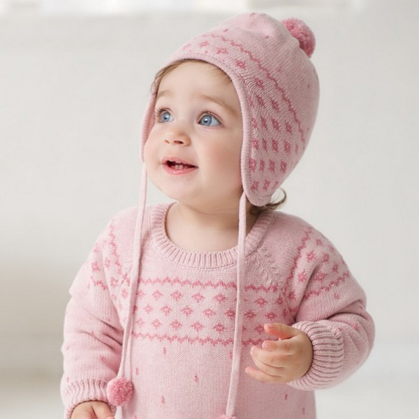 DB202 dave bella autumn winter baby hat caps