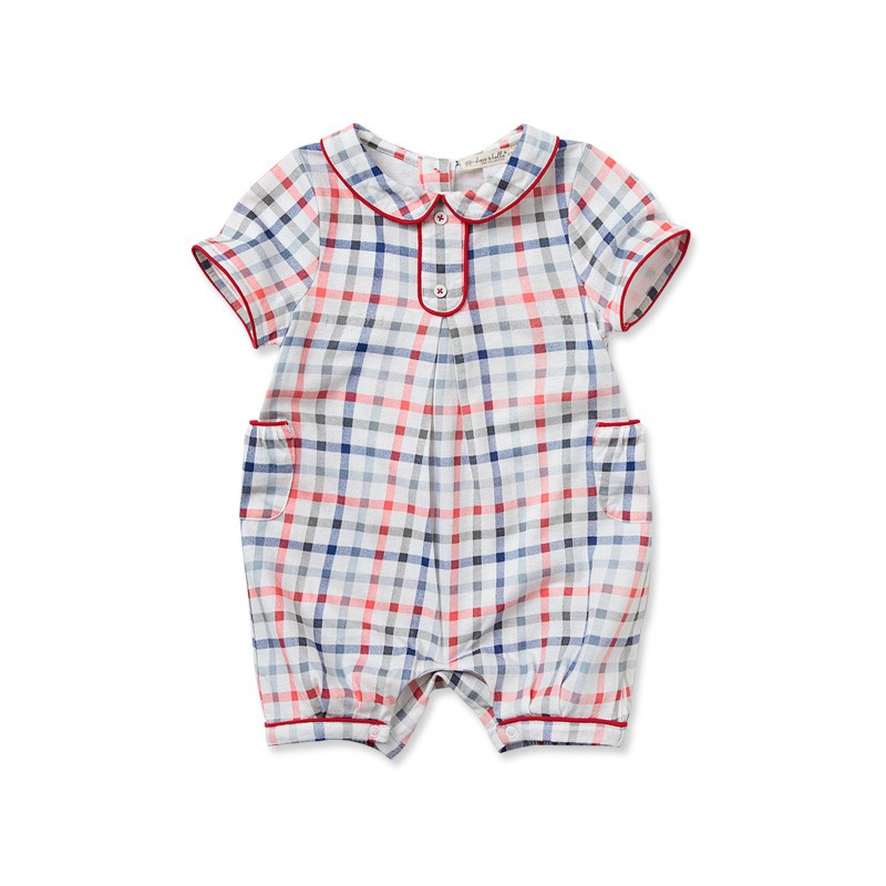 DB1017 Davebella 100%cotton baby rompers