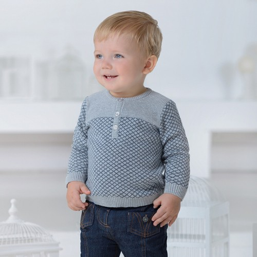 94809df69 DB1155 davebella baby knitted sweater baby pullver manufacturers ...