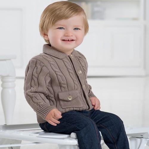 49e4c0d8d best wholesaler 2ab74 1a9d1 db815 davebella baby boy knitted sweater ...