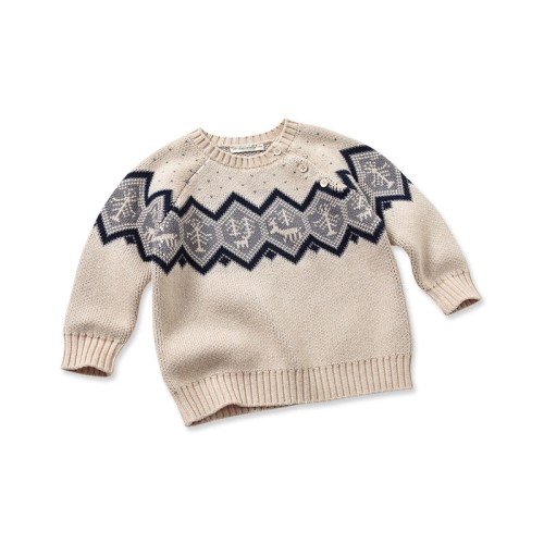 d6232f4a2 DB1436 davebella baby winter o-neck sweater manufacturers