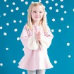 DB989 davebella baby princess dress winter dress