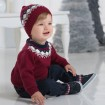 DB1221 davebella baby knitted hats
